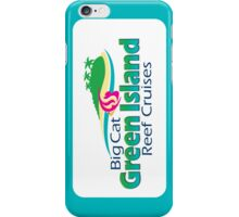 Green Island Cruises - light blue iPhone Case/Skin
