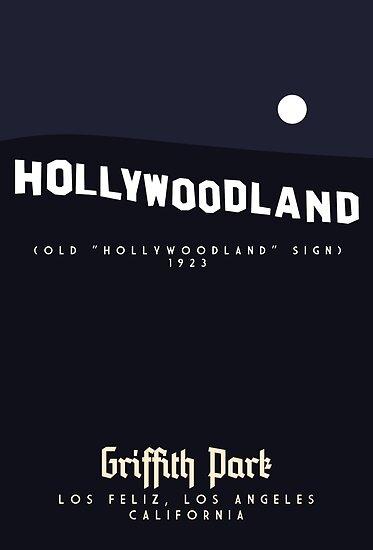 Griffith Park: The Hollywood Sign by Sam Novak