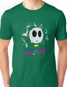 Splattery Shy Guy Style 1 Unisex T-Shirt