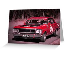 Ford Falcon XW GTHO Greeting Card