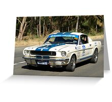 Ford Mustang - 1967 Greeting Card