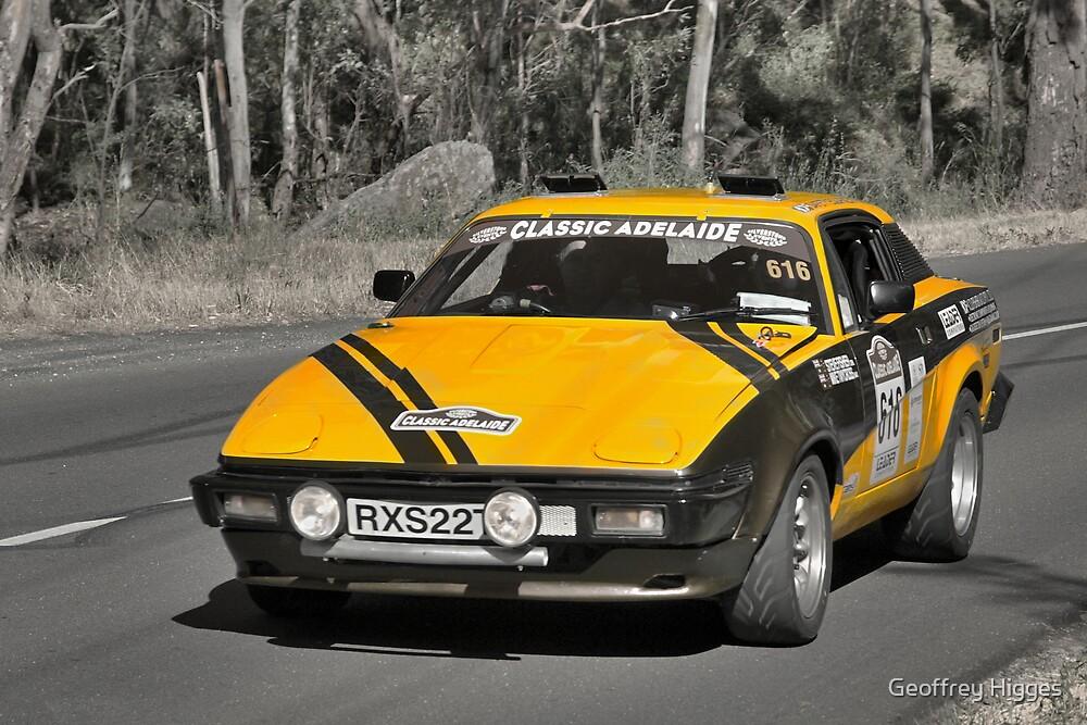 Triumph TR7 by Geoffrey Higges