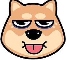 Shibe Dog by Michael Fortman