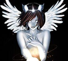 Draenei Archangel by Nancy Teeple