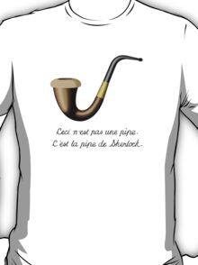 Sherlock's Pipe - The Treachery of Homages T-Shirt