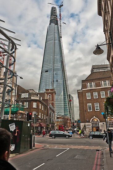 Shard Skyscraper by DonDavisUK
