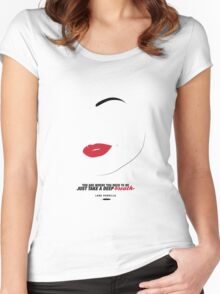 Lana Parrilla  Women's Fitted Scoop T-Shirt