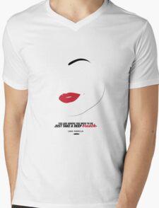 Lana Parrilla  Mens V-Neck T-Shirt