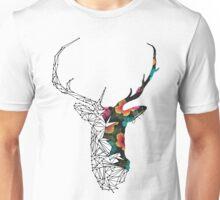 STAG FLORAL Unisex T-Shirt