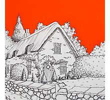 A Thatched Cottage Photographic Print