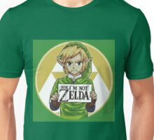 Link is not Zelda Unisex T-Shirt
