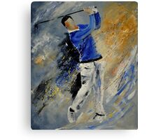 golfing Canvas Print