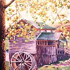 Mill in fall by Dan Wilcox