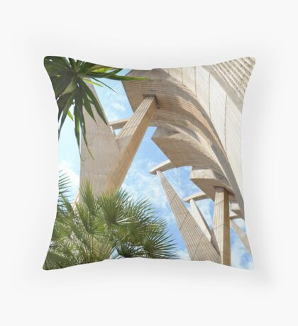 Church of the sea Throw Pillow