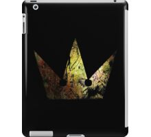 Kingdom Hearts Crown grunge universe iPad Case/Skin