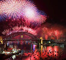 Sydney on Fire by Felix Haryanto