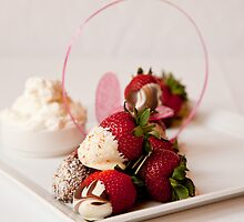 Chocolate dipped strawberries by Heather  McCann