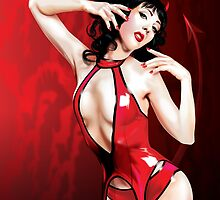 Sexy Red Devil by Brian Gibbs