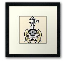 Drakengard Five Chibi Framed Print