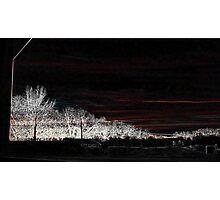 Black Friday, Whit Edging Art 13 Photographic Print