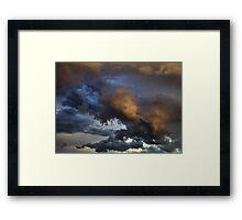 Cloud Saturday Framed Print