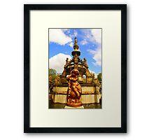The Stewart Memorial Fountain Framed Print