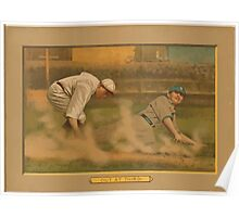 Benjamin K Edwards Collection Out at thirdbaseball card portrait Poster