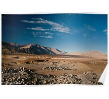 The hills of Leh Poster