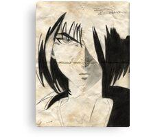 Kenshin Parchment Canvas Print