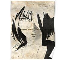 Kenshin Parchment Poster