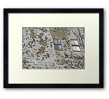 Faded glory in Newark City Framed Print