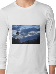 SUNRISE PEEKING FROM CLOUDS Long Sleeve T-Shirt
