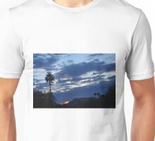 SUNRISE PEEKING FROM CLOUDS Unisex T-Shirt