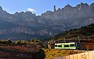 The Cremallera de Montserrat, Spain by David Carton
