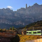 The Cremallera de Montserrat, Spain by buttonpresser