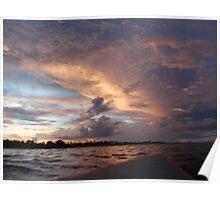 Morning Surf Bali Poster