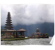 Ulun Danu Temple - Bali Poster