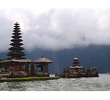 Ulun Danu Temple - Bali Photographic Print