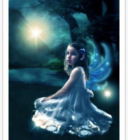 Fairy and Fireflies Sticker