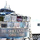SHETLAND BUS MEMORIAL by NordicBlackbird