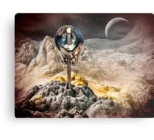 Alien Artifact Metal Print
