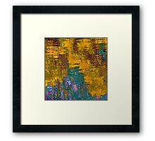 Reflections In a Pond #1 Framed Print