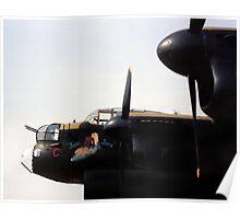 Lancaster Bomber 'Just Jane' Poster