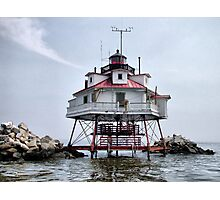 Thomas Point Shoal Lighthouse Photographic Print