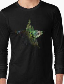 Kingdom Hearts Wayfinder grunge universe Long Sleeve T-Shirt