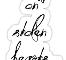 Stolen Hearts Sticker
