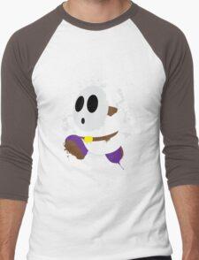 Splattery Shy Guy Style 2 Men's Baseball ¾ T-Shirt