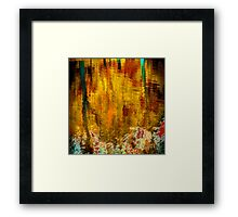 Reflections In a Pond #5 Framed Print