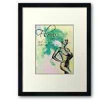 Flow Session Flyer #1 Framed Print