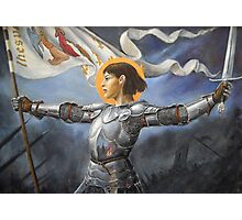 Joan of Arc Photographic Print